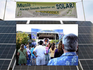 Sundance brings solar to Downtown After 5