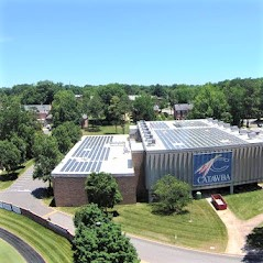 Sundance installs PV and SHW systems throughout Catawba College