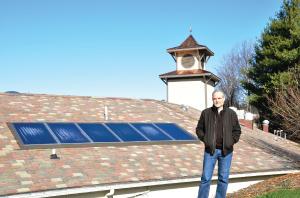 Sundance installs solar hot water systems on 7 Asheville independent restaurants.